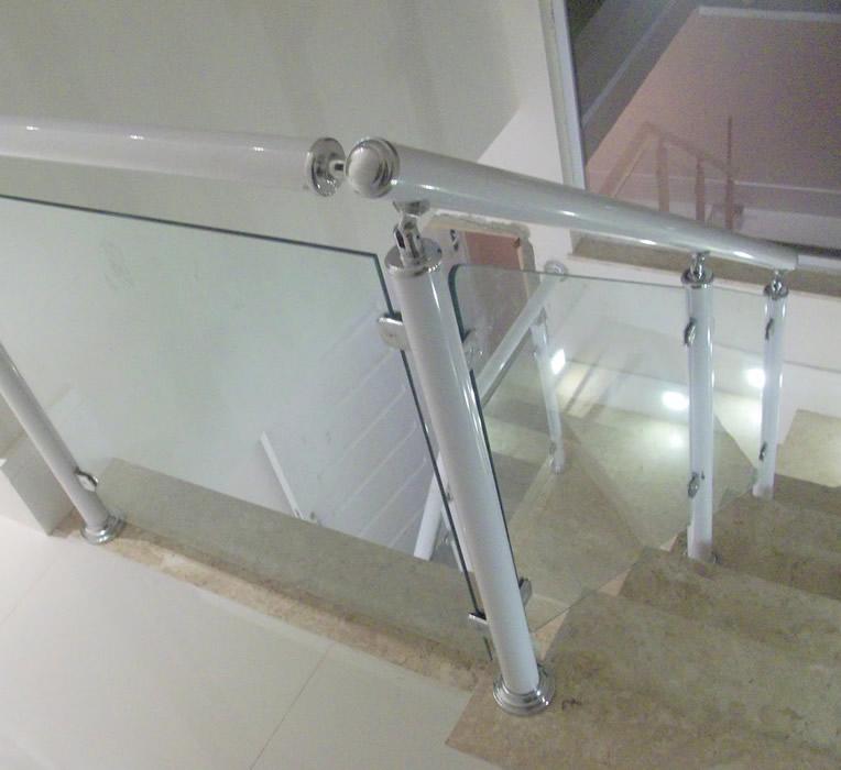 Preferência Corrimão para escadas – Vidraçaria na Vila Sônia  Valdo Vidros IZ93